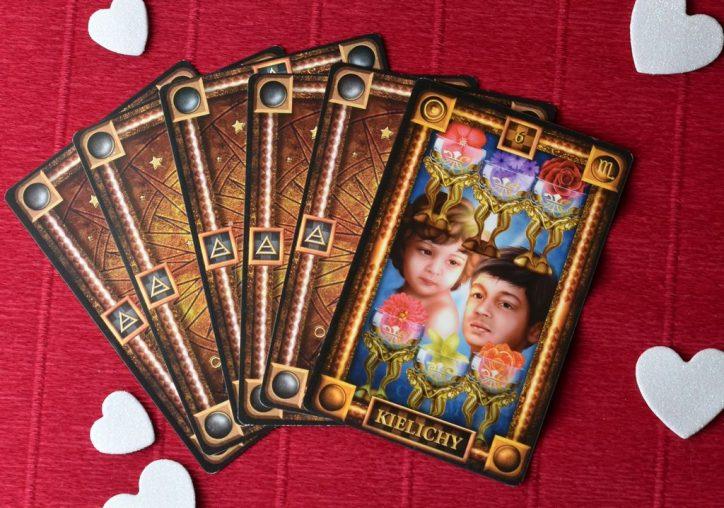 6 Kielichów tarot wygląd